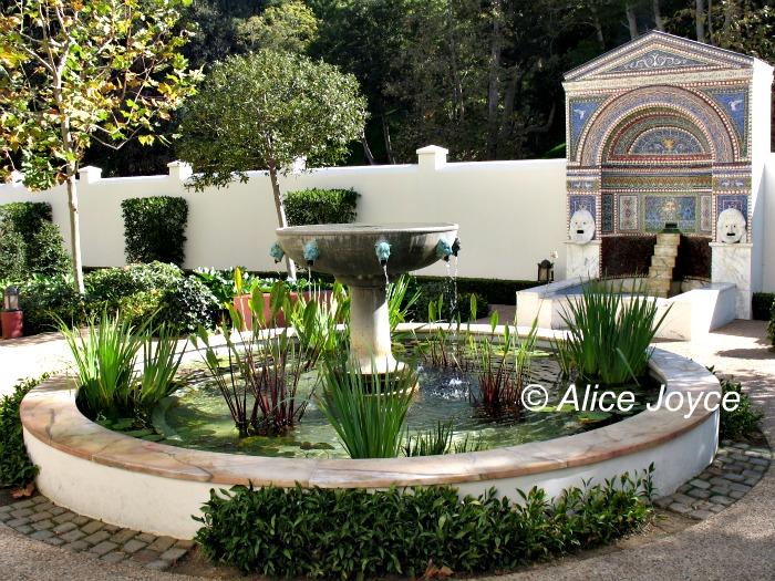 Getty Villa East Garden Malibu California Alice 39 S
