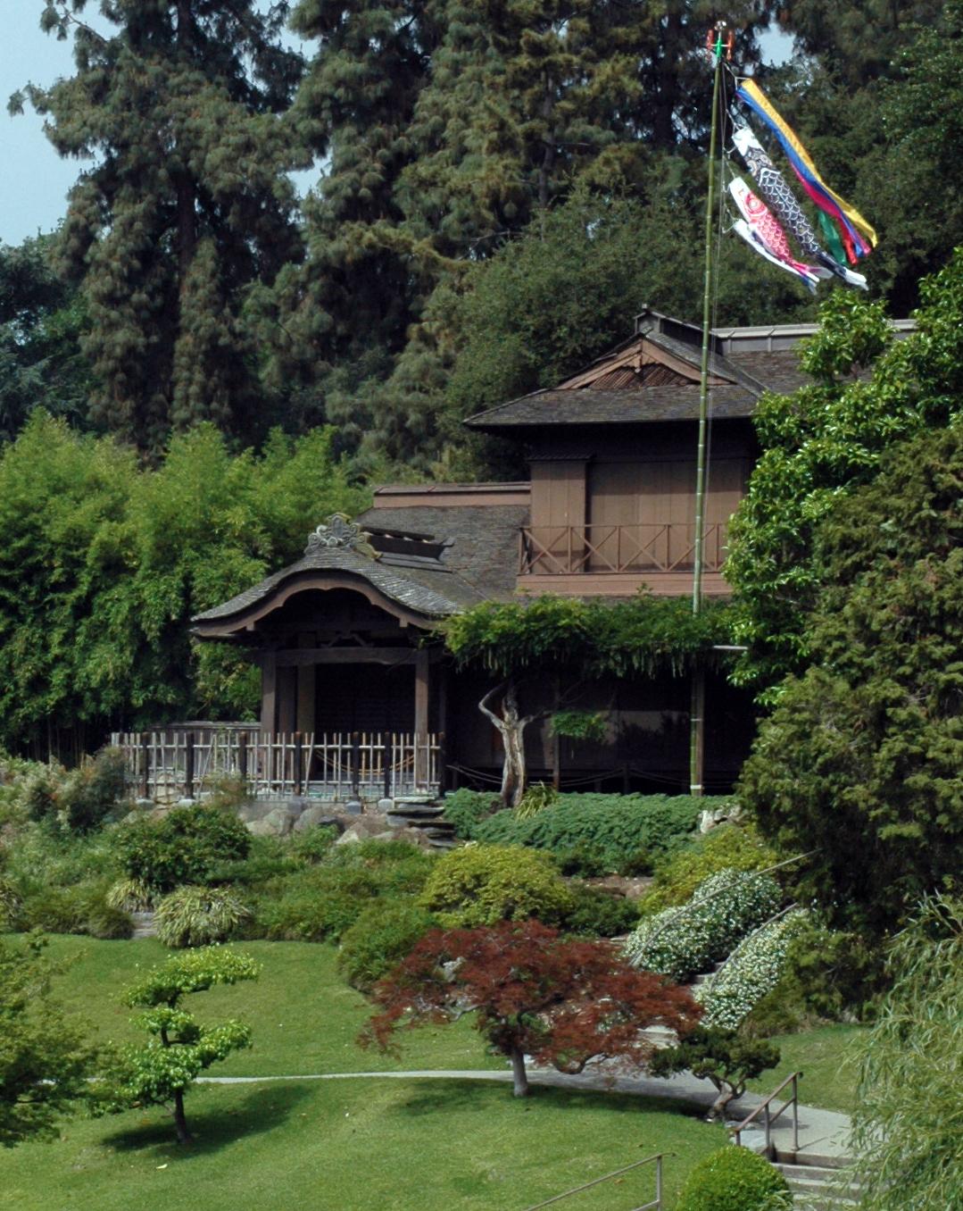 Japanese garden the huntington alice 39 s garden travel buzz for Japanese garden house