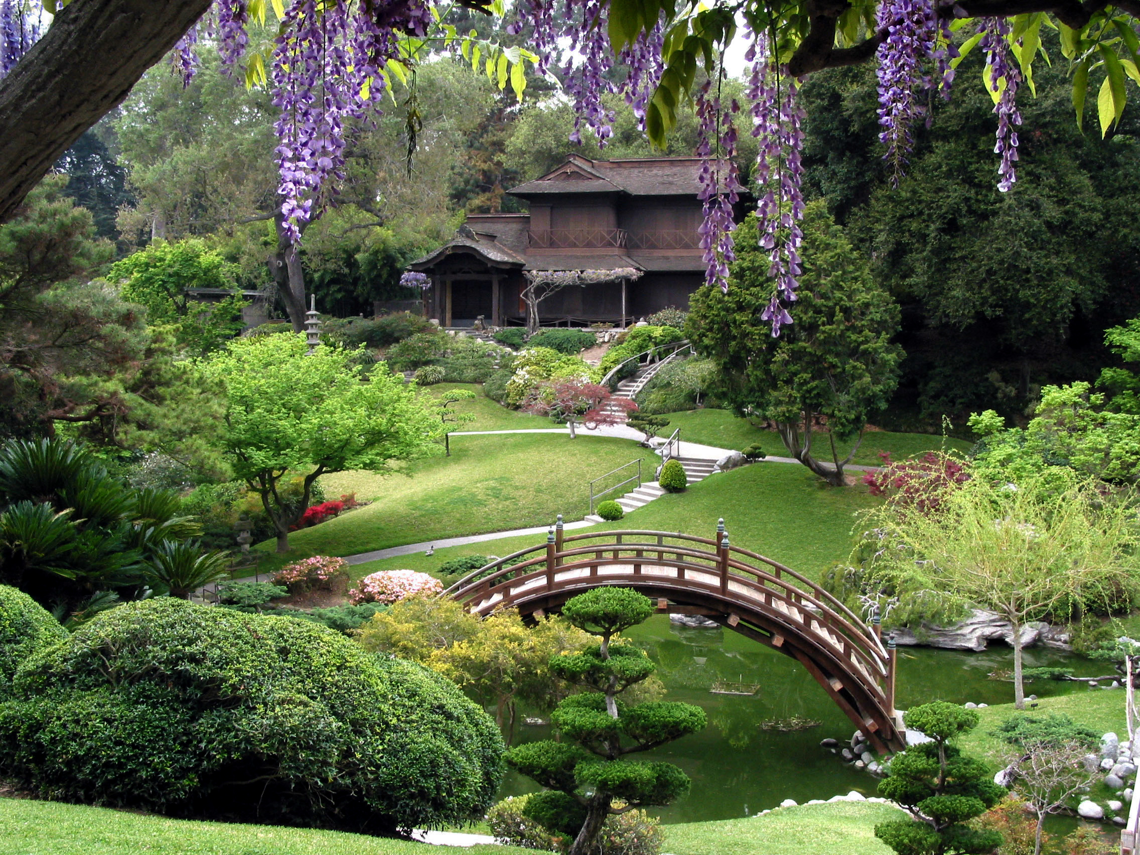 Japanese garden the huntington alice 39 s garden travel buzz - Japanese garden ...