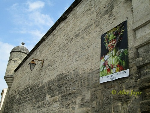 Uzes Wall Poster © Alice Joyce