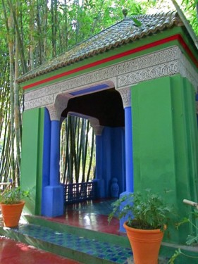 Jardin Majorelle Pavilion